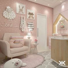 Baby Girl Nursery Room İdeas 495958977711308281 - Baby girl nursery ideas Source by Baby Bedroom, Baby Room Decor, Nursery Room, Girl Nursery, Girls Bedroom, Nursery Ideas, Room Baby, Princess Nursery, Room Ideas