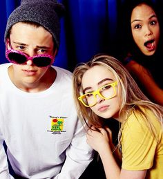 Sabrina Carpenter and Corey
