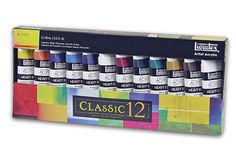 It is a heavy body colour so its thick buttery consistency will retain brush strokes.This Liquitex classic paint set contains 12 x tubes of heavy body acrylic. Great Paintings, Paintings For Sale, Love Painting, Artist Painting, Discount Art Supplies, Paint Brush Holders, Oil Painting Supplies, Acrylic Paint Set, Liquitex