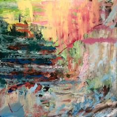 "Saatchi Art Artist ian rayer-smith; Painting, ""'See flavours taste shapes'"" #art"