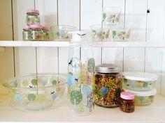 Love theses Shinzi Katoh glass dishes! Glass Dishes, Furniture, Design, Home Decor, Decoration Home, Room Decor, Home Furniture, Interior Design, Design Comics