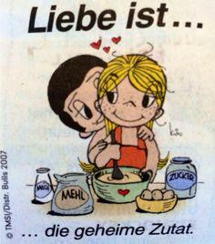 Love is . - Love is … - Love Is Cartoon, Love Is Comic, Cartoons Love, Girl Cartoon, Comic Pictures, Comic Pics, Friend Scrapbook, Things About Boyfriends, I Love You