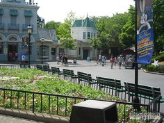 six flags great america - empty park (1)