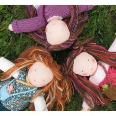 Waldorf doll by FeeVertelaine