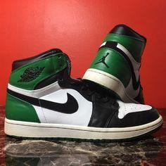 32b9b8382636 Air Jordan Retro 1 Celtics (DMP)