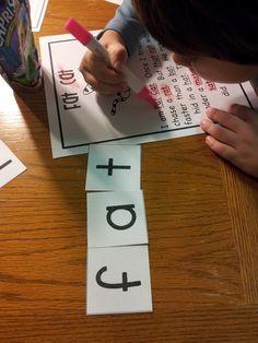 Chalk Talk: A Kindergarten Blog: word work