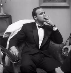 Marlon Brando at the Ambassador Hotel, Los Angeles, California, Circa 1955.