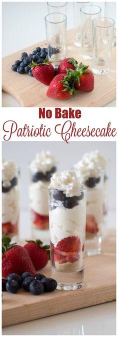 No Bake Patriotic Ch