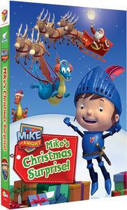 """Mike the Knight: Mike's Christmas Surprise!"" is on DVD! http://www.amazon.com/Mike-Knight-Mikes-Christmas-Surprise/dp/B00DOZRR2W/ref=sr_1_1?s=movies-tv&ie=UTF8&qid=1418065362&sr=1-1&keywords=mike%27s+christmas+surprise"