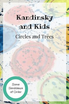 Kandinsky, art and kids, crafts with kids, art projects, rainy day activities Rainy Day Activities, Summer Activities For Kids, Summer Kids, Art For Kids, Crafts For Kids, Kandinsky Art, Gentle Parenting, Parenting Tips, How Do You Find