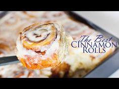 The Best Cinnamon Rolls Recipe - Tatyanas Everyday Food Best Cinnamon Roll Recipe, Cinnabon Cinnamon Rolls, Apple Cinnamon Rolls, Cinnamon Recipes, Bread Recipes, Cooking Recipes, Tatyana's Everyday Food, Cupcake, Dried Raspberries