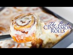 The Best Cinnamon Rolls Recipe - Tatyanas Everyday Food