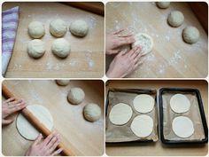 Pita chlieb (fotorecept) - recept | Varecha.sk Food And Drink, Yummy Food, Basket, Delicious Food