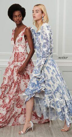 aee081435941 Oscar De La Renta Vogue Resort 2019 Light Dress, Oscar Dresses, Fashion  Week 2018