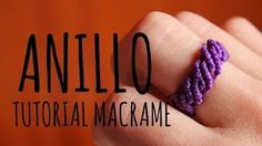tutoriales macrame redondo - YouTube