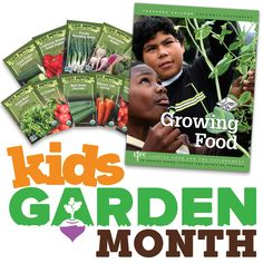 Announcing #KidsGardenMonth #giveaway week 4! Like us on Facebook to find out how to win!