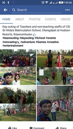 Day outing of Teachers and non-teaching staffs of CSI St Hilda's Matriculation School, Chengalpet at Hudson Resorts, Sriperumbudur (y)  https://m.facebook.com/story.php?story_fbid=1304011022990477&id=1058108034247445 #teamouting #dayouting #School #events #emceeing🎤 #adventure #Games #entertrainment