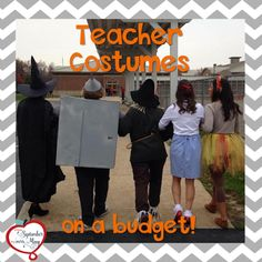 Five cheap and easy DIY Halloween costumes for teachers
