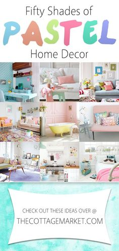 cool 50 Shades of Pastel Home Decor - The Cottage Market by http://www.best99homedecorpics.club/home-decor-colors/50-shades-of-pastel-home-decor-the-cottage-market/