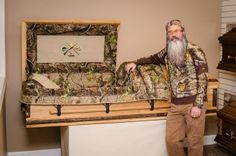 Hey... they even have a duck dynasty CASKET