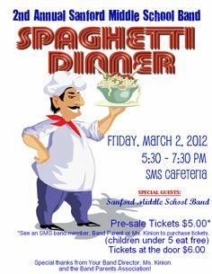 spaghetti dinner fundraiser - Google Search