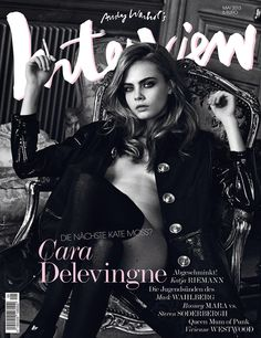 Cara Delevingne for Interview Magazine Germany, May 2013