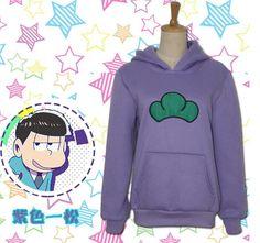Six Same Faces Osomatsu san Kun Hoodie Jacket Coat Sweatshirt Anime Cosplay