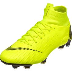 release date 410fb b0d12 Nike Mercurial Superfly 6 Pro FG – Volt Black Superfly Soccer Cleats, Nike  Soccer