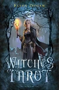 Witches Tarot by Ellen Dugan art by Mark Evans. Release date September 2012. This boxed set comes with a 312 page original book written by Ellen and the tarot deck featuring Mark's brilliant artwork.   Please visit our website at www.witchestarot.com