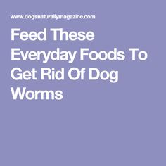 worms in rice how to get rid of
