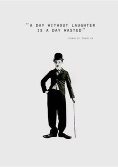 Hah! I totally thought I'd made this line up... turns out Charlie Chaplin said it first.