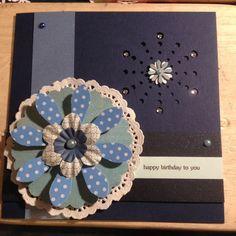 Geburtstagskarte ....