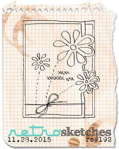 retro sketches : a challenge: retrosketches #192...