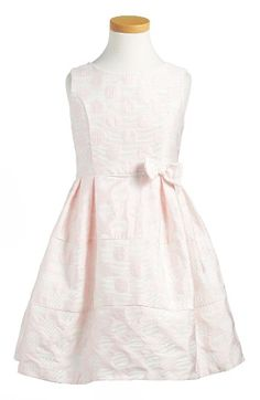 Free shipping and returns on Little Angels Polka Dot Sleeveless Dress (Toddler Girls & Little Girls) at Nordstrom.com. Polka dot jacquard fabric peps up a crisp sleeveless dress with a full, pleated skirt.