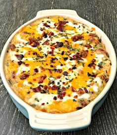 Instant Pot Bacon Chicken Ranch Baked Potato Casserole is a quick and easy pressure cooker recipe with mozzarella and cheddar cheese. Ranch Chicken Recipes, Chicken Recipes Video, Chicken Bacon Ranch, Fried Chicken, Mozzarella Chicken, Chicken Meals, Recipe Chicken, Chicken Chili, Instant Pot