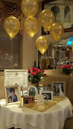 Memories 50th Wedding Anniversary Decorations 80th Birthday 60 90th