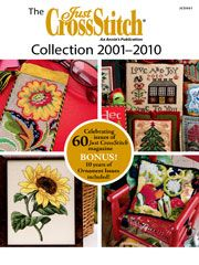 Just Cross Stitch Magazine CD Collection 2001-2010 including ornaments issues.