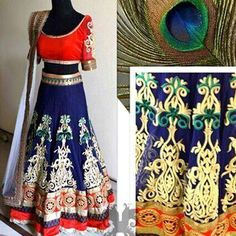 Designer Bollywood Lehenga Choli on Smartdeals4u.com http://ift.tt/1lCYD9T #Lehenga  #Choli #Designer  #DesignerLehenga #Wedding #Saree  #Bridal #BridalWear #Fashion #Dupatta Whats App :- 9953089027 Buy Now :- www.smartdeals4u.com