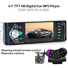 4022D Car Radio MP4 Player with Rear View Camera  4.1 inch Car MP3 MP5 Player Bluetooth FM Transmitter Stereo Audio for Music (32764064671)  SEE MORE  #SuperDeals