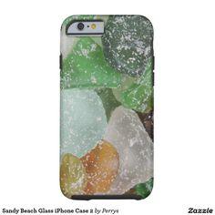 Sandy Beach Glass iPhone Case 2 Tough iPhone 6 Case