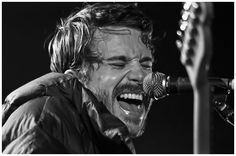 Lead singer John Gourley - Portugal. The Man at SunGod Festival 2013