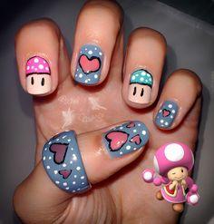 Con mucho amor http://kakelnails.blogspot.com.es/2014/02/toad-friki-love-heart.html
