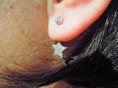 Jacket Earrings Ear Jacket Cuff Earrings Sterling by ebrukjewelry Jacket Earrings, Cuff Earrings, Bridal Earrings, England Fashion, Ear Jacket, Women Jewelry, Unique Jewelry, Bridesmaid, Sterling Silver