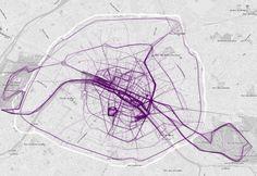 Où courent les gens à Paris, New York ou Londres? La réponse en cartes | Slate.fr