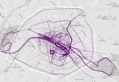 Maps of jogging routes reveal cities' rich and poor neighborhoods