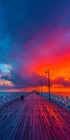 Sunset Away