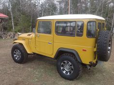 Make:  Toyota Model:  Land Cruiser Year:  1978 Body Style:   Exterior Color: Yellow Interior Color: Black Doors: Two Door Vehicle Condition: Excellent Price: $23,000 Mileage:21,000 mi Fuel: Gasoline Transmission: Manual Drivetrain: 4 wheel drive  for more info:  http://UnitedCarExchange.com/a1/1978-Toyota-Land%20Cruiser-871484051479