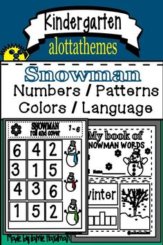 Christmas Activities For The Classroom Lesson Plans Explanation Text, Kindergarten Activities, Motor Activities, Christmas Planning, Alphabet Activities, Learning Through Play, Christmas Activities, Booklet, Lesson Plans