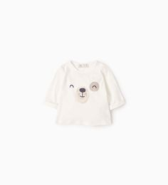 Image 1 of Bear T-shirt from Zara