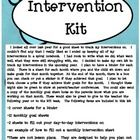 $2.00 I decided to make my own kit to track my interventions in the upcoming year. I plan to have a binder for each child. There is a sheet for each month where you and the child sit down and make goals for that month together. At the end of the month, there is a box you can check or put a sticker in if they achieved that goal.  I thought these might also be great to show at parent/teacher conferences.